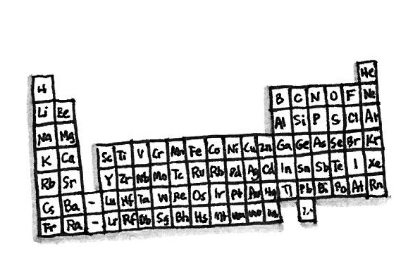 "Dmitri Mendeleev was the first scientist to order the elements by atomic mass, resulting in what is now the periodic table. Mendeleev carried a deck of cards – each with an element and some of its known properties – using time on train rides to play ""chemical solitaire"" and look for patterns."