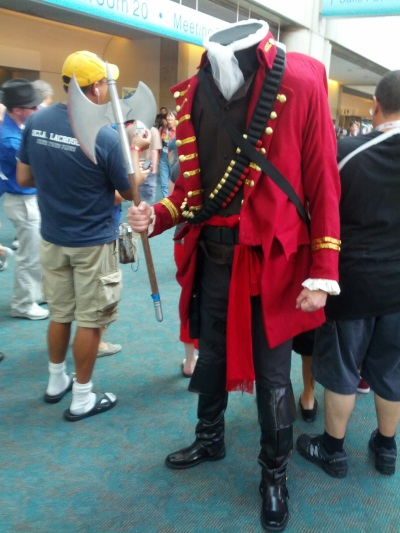 Headless Horseman costume at 2013 Comic-Con