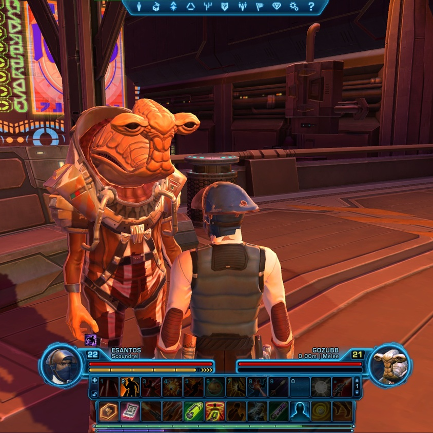 Star Wars: The Old Republic, head and torso shot