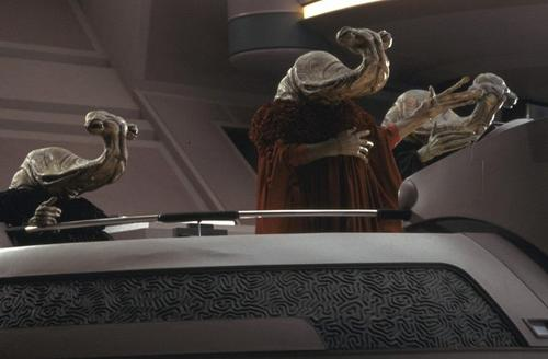Another reference photo of Ithorians, in this case Senators in the Republic