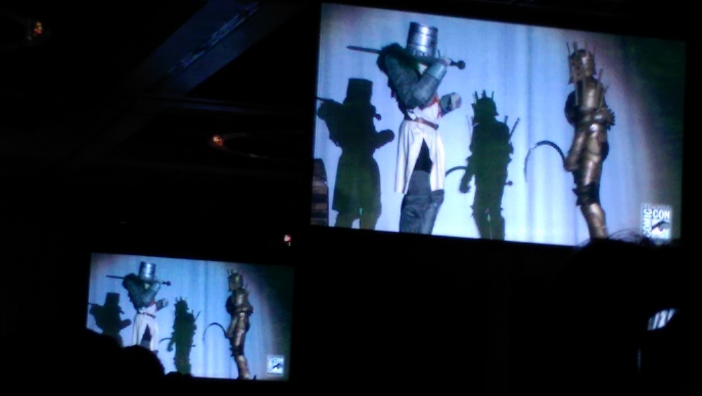 One of the many cosplay skits at the 40th annual Comic-Con Masquerade.