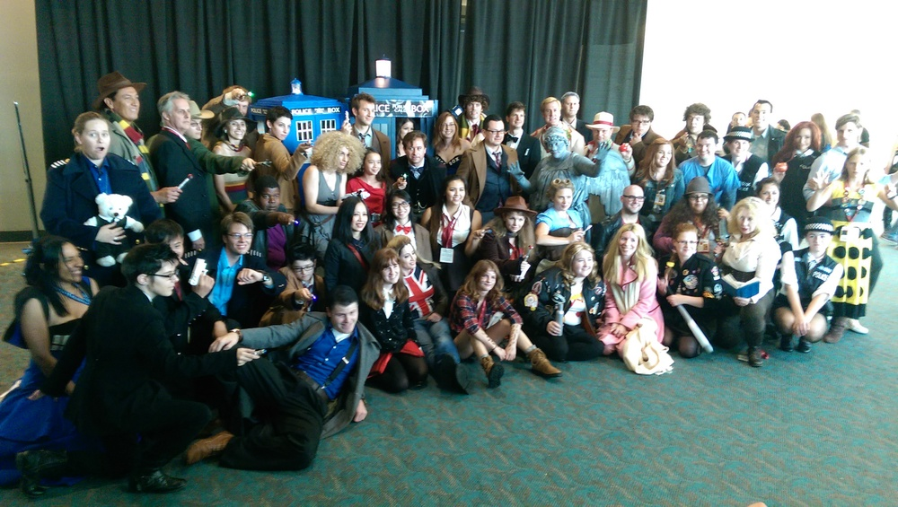 The Whovian cosplay meetup!