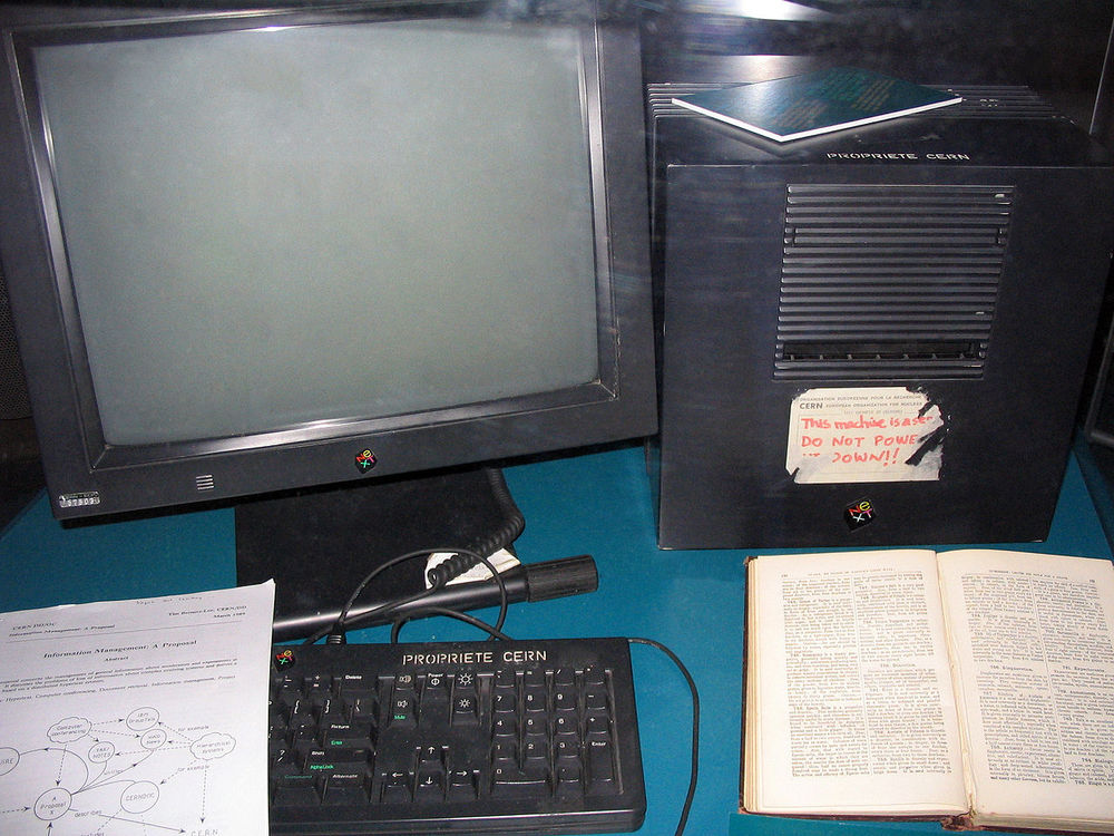 First web server at CERN