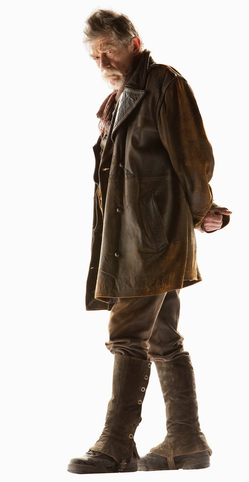Another publicity shot of John Hurt as the War Doctor