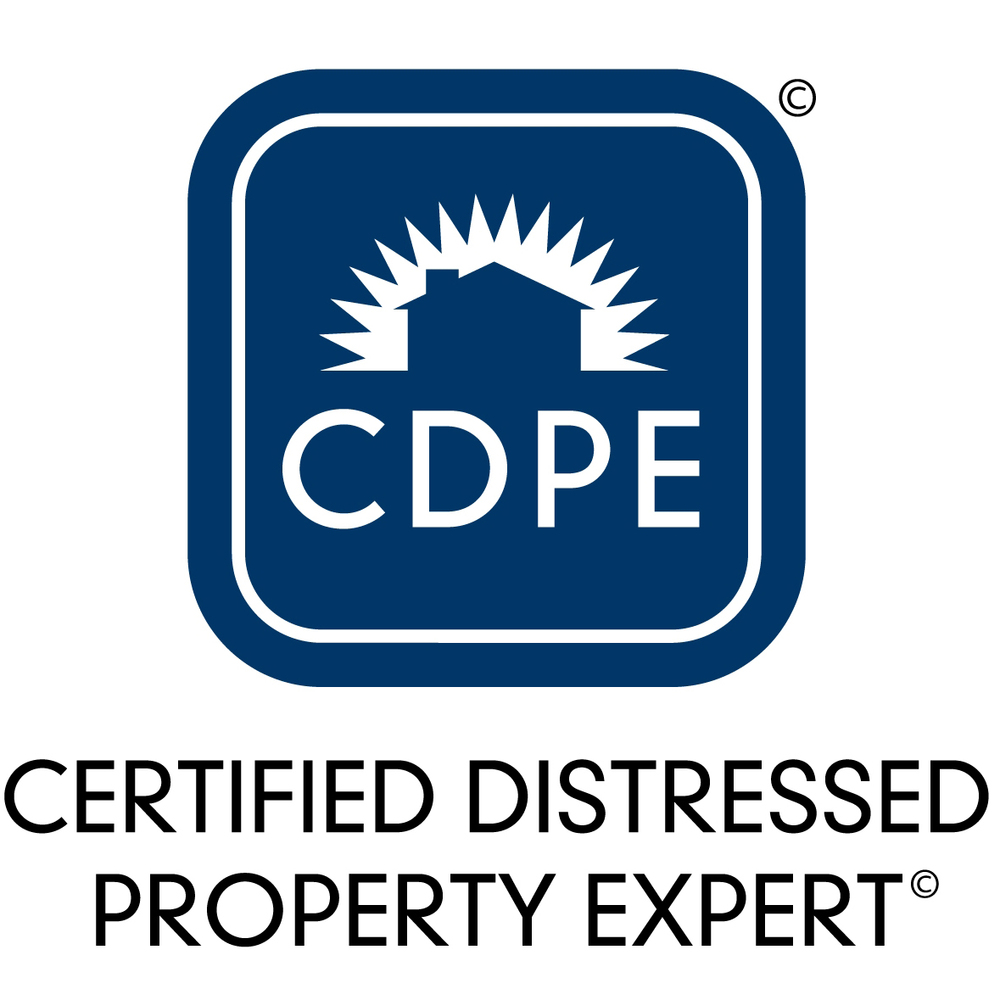 CDPE,  Certified Distressed Property       Specialist