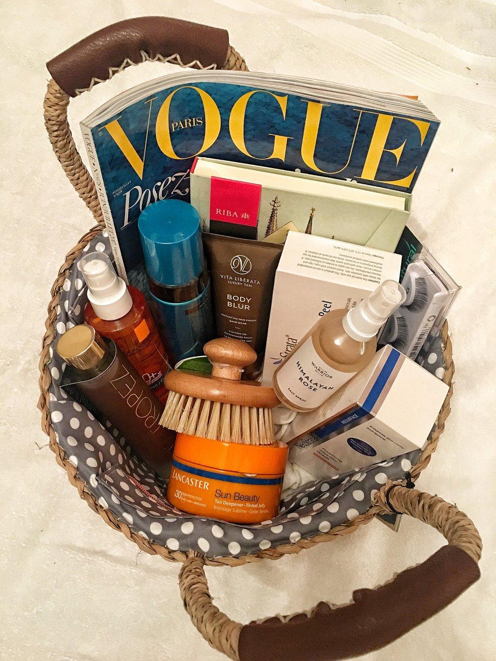 Summer in a basket