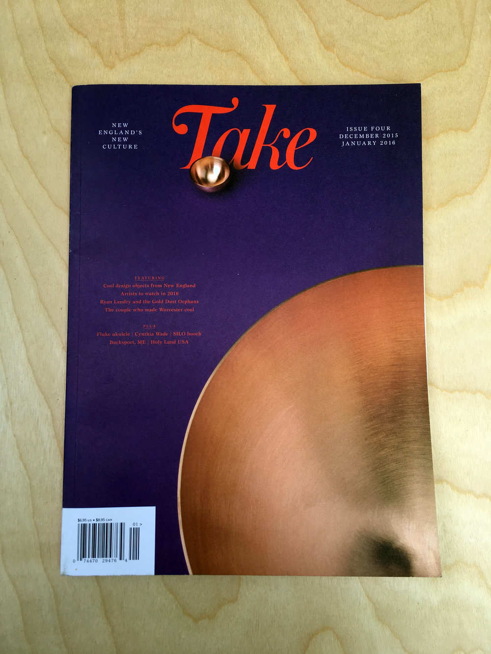 TAKE MAGAZINE DECEMBER 2015/JANUARY 2016