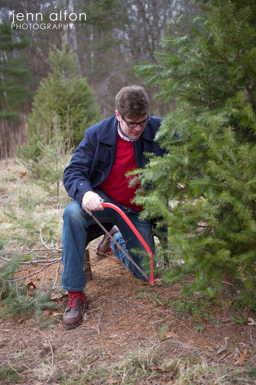 Cutting your own tree, Surprise Proposal, Smolak Farm