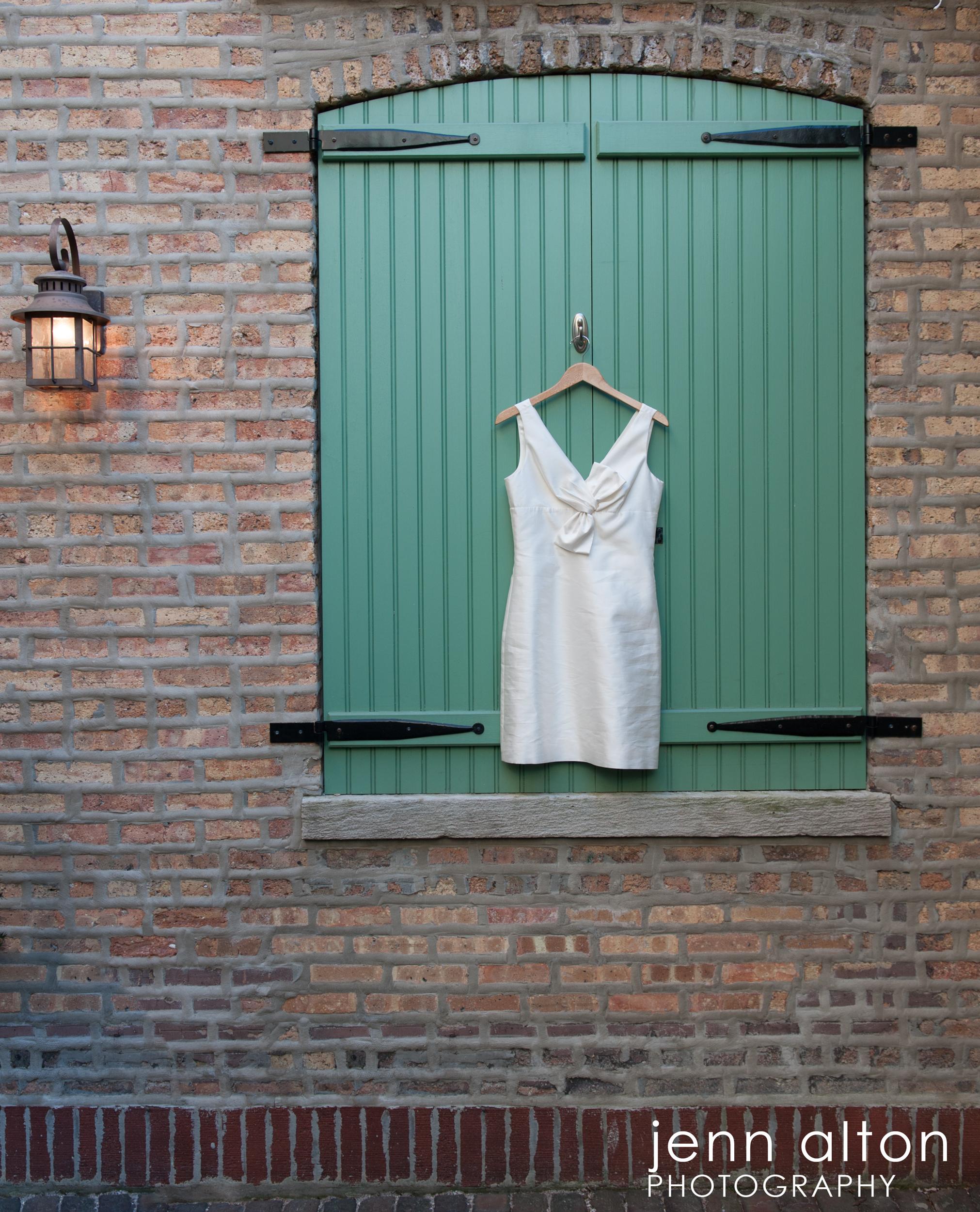 Wedding Dress detail, Chicago Wedding