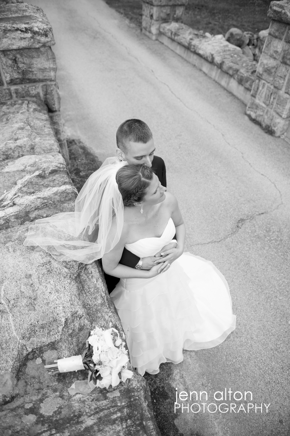 Bride and Groom Portrait, Searles Castle