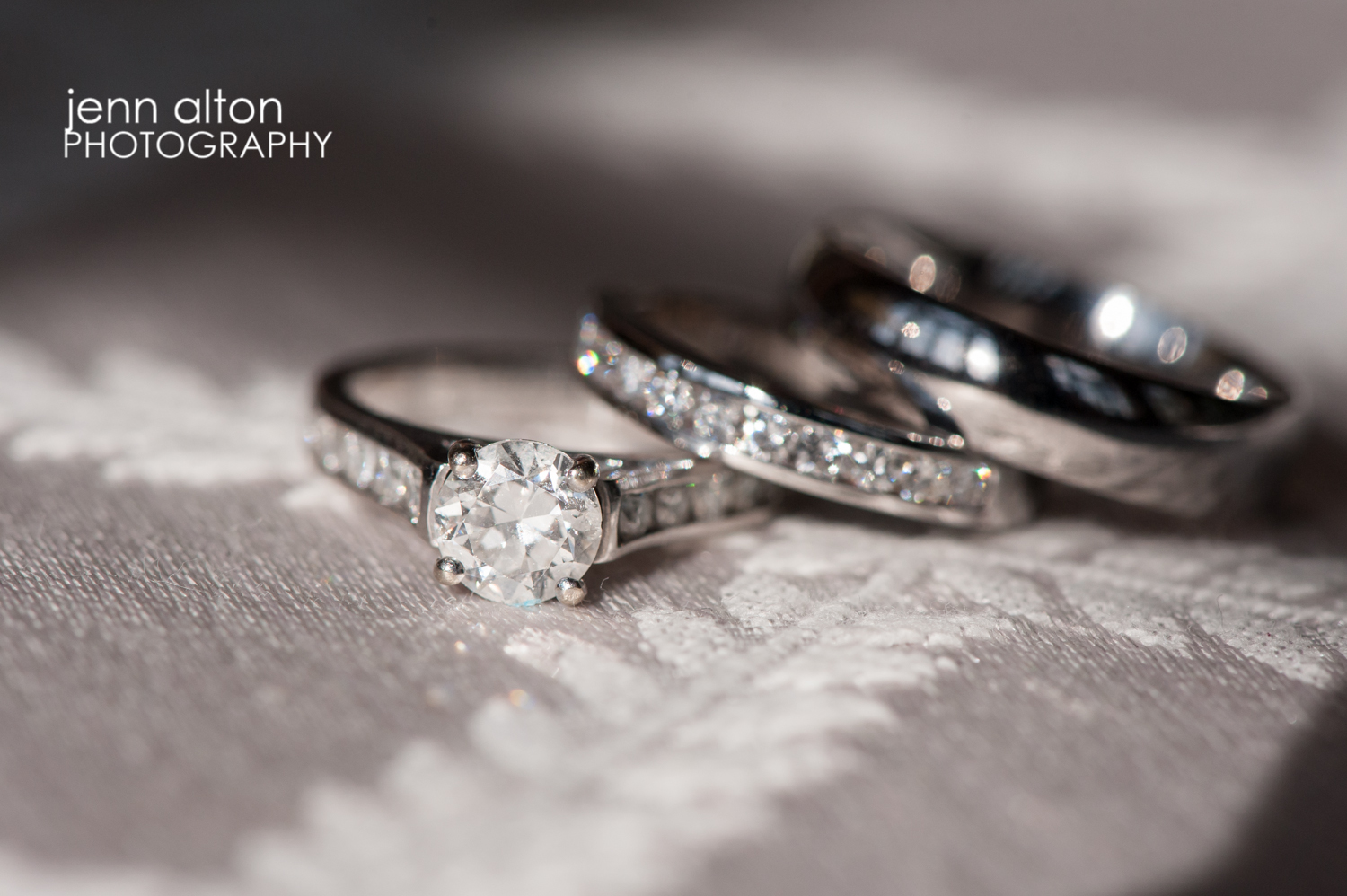 Ring Details, wedding bands and engagement ring