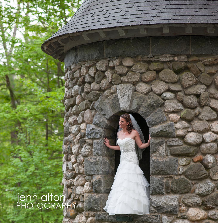 Bride Portrait, Searles Castle
