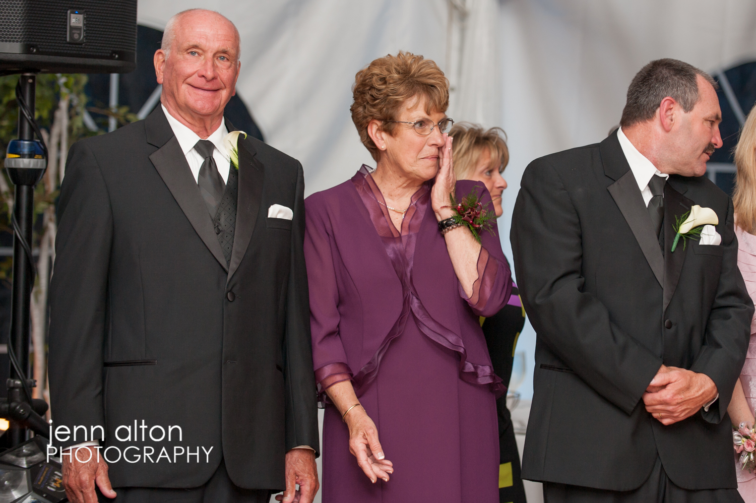Family emotion during reception