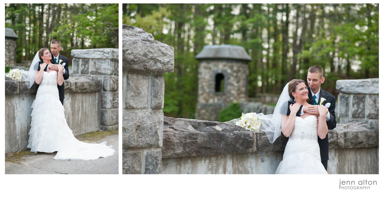 Bride and Groom Portrait, Searles Castle