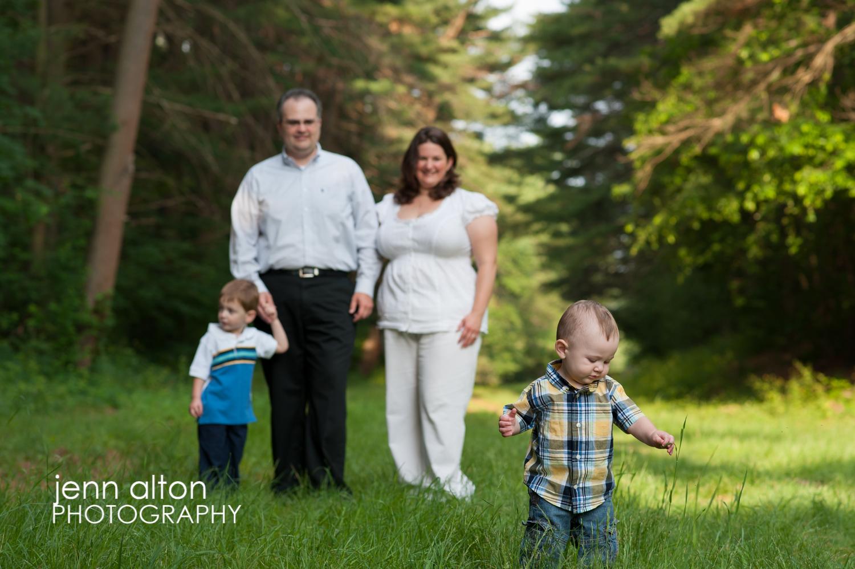 Family outdoor photos