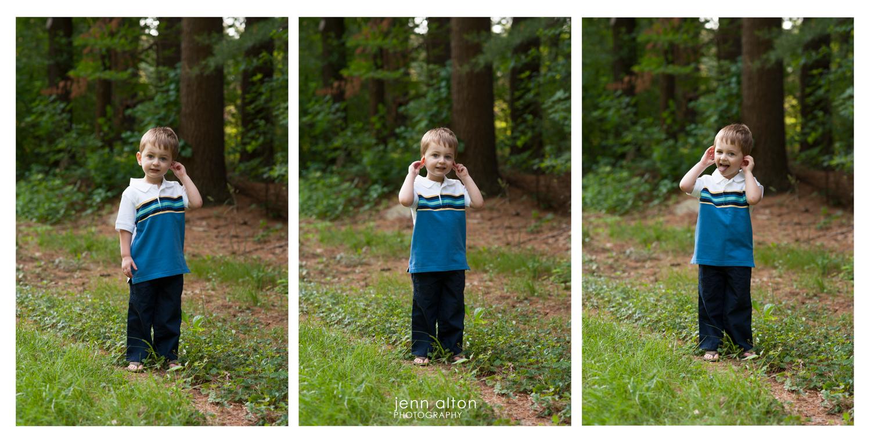 Little boy portraits