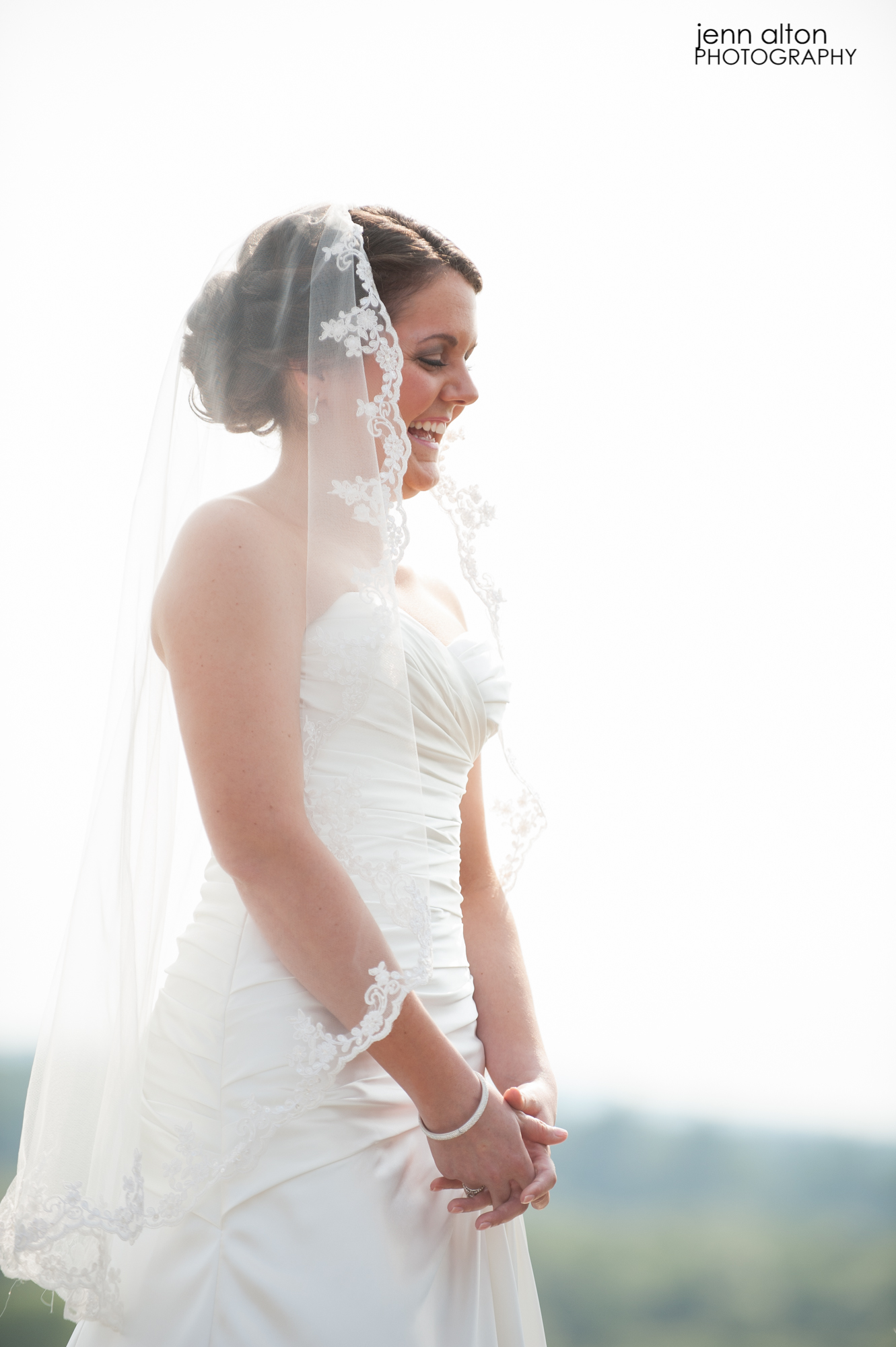 Bride during vows, Wedding, Merrimack Valley