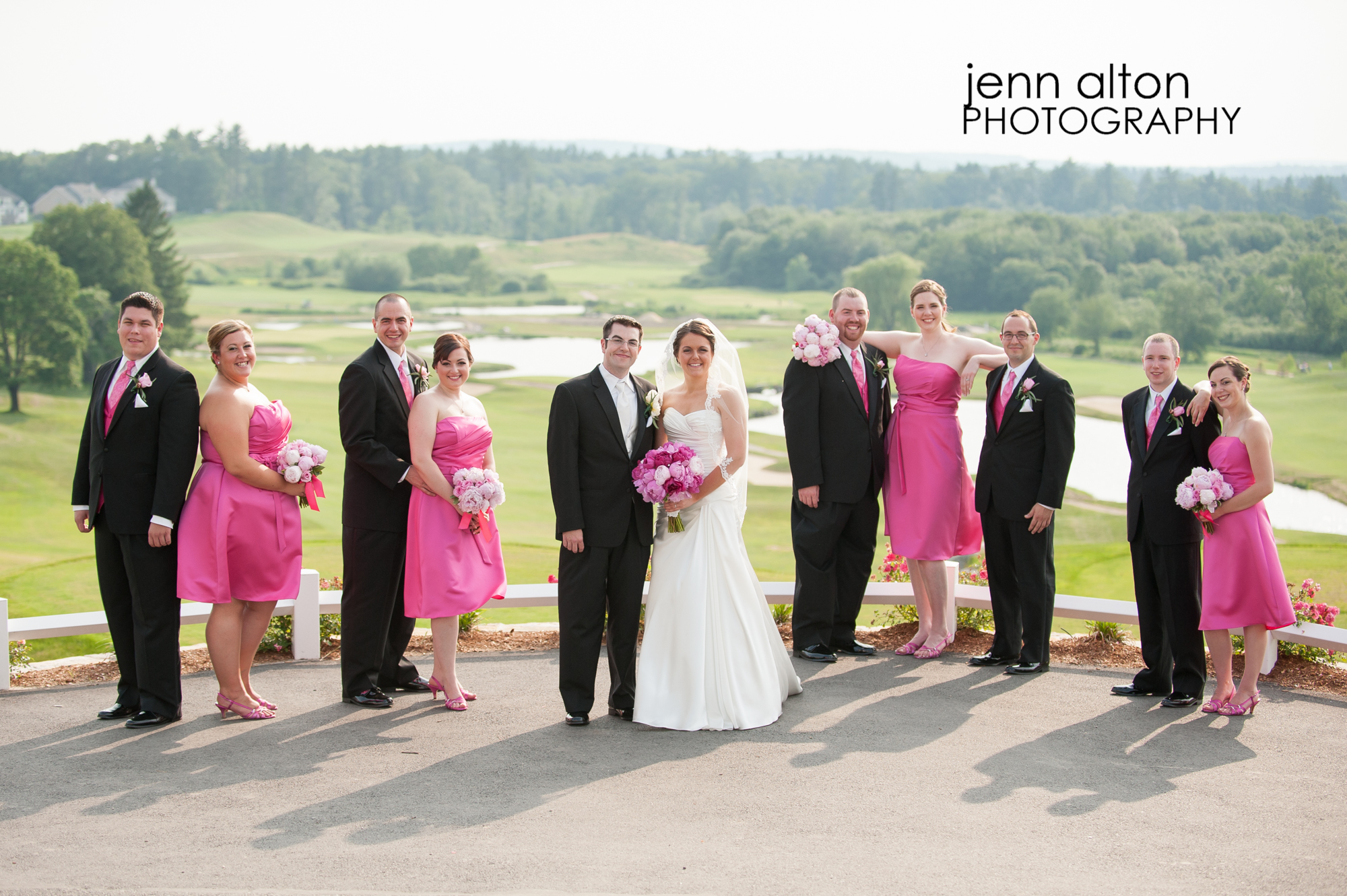Bridal party, Merrimack Valley