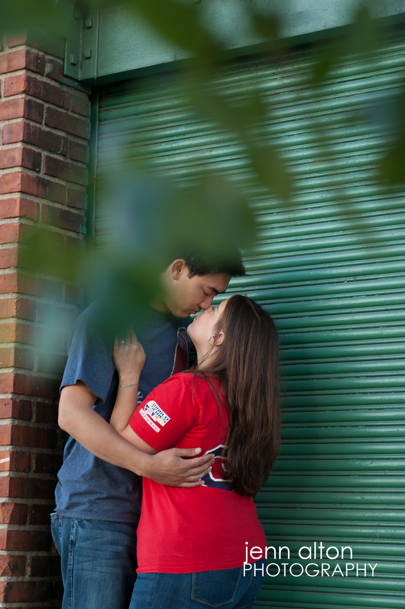 130609_Engagement couple, Fenway Park, Boston&Josh-6450
