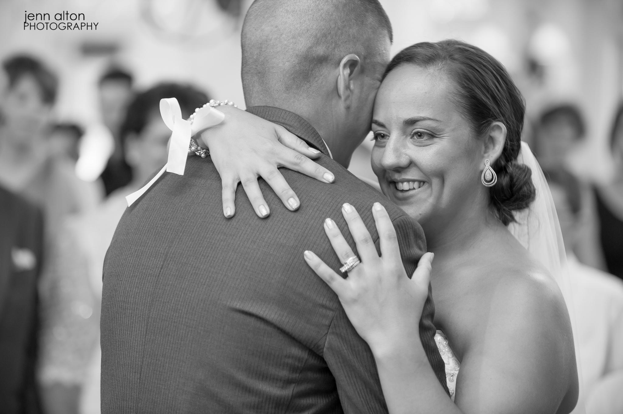First dance bride and groom, Pinehills Golf Club Wedding Reception