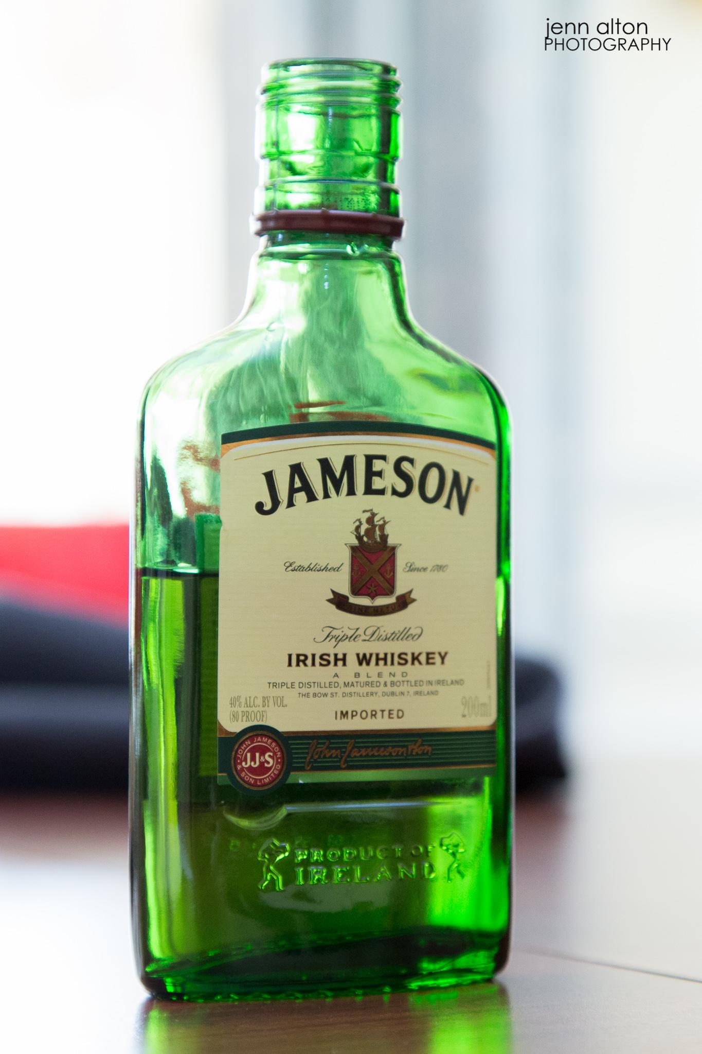 Jameson for groom and groomsmen