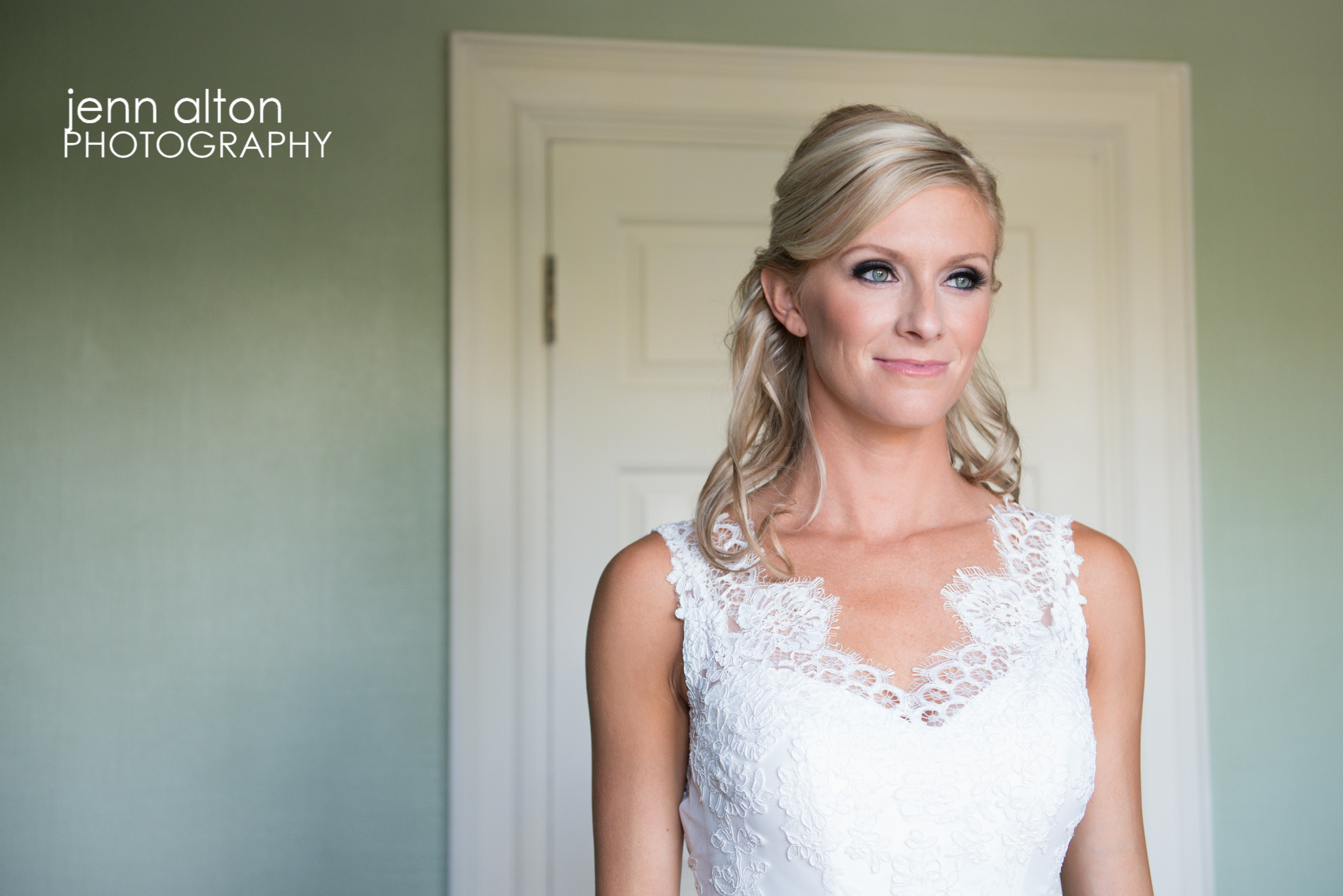Bridal portrait, Henderson House