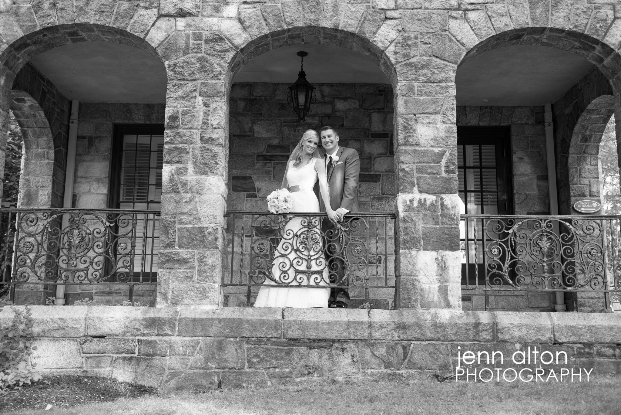 Bride and Groom Portrait, Henderson House