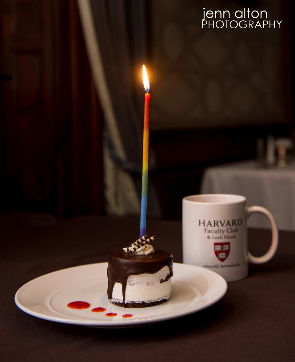 HarvardFacultyclubbirthdaycake