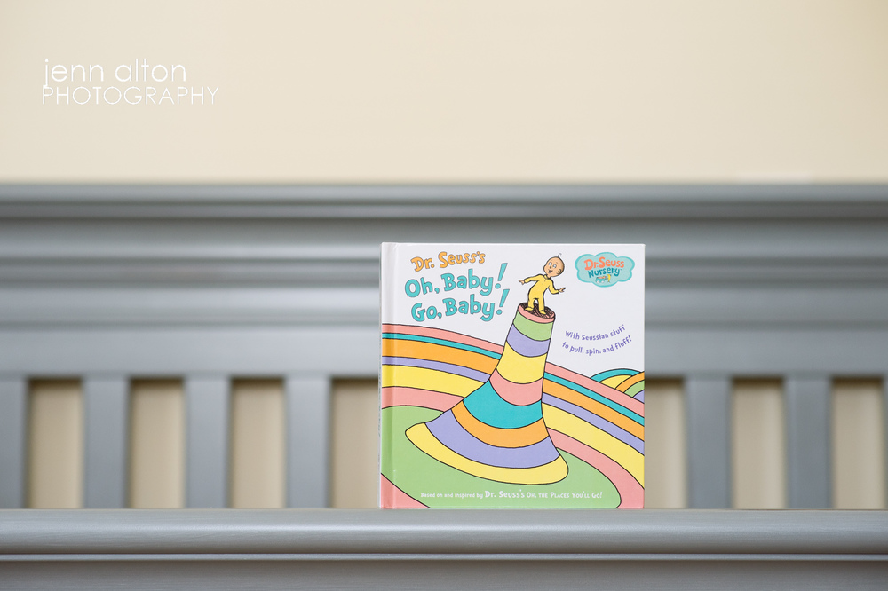 Newborn baby nursery photography