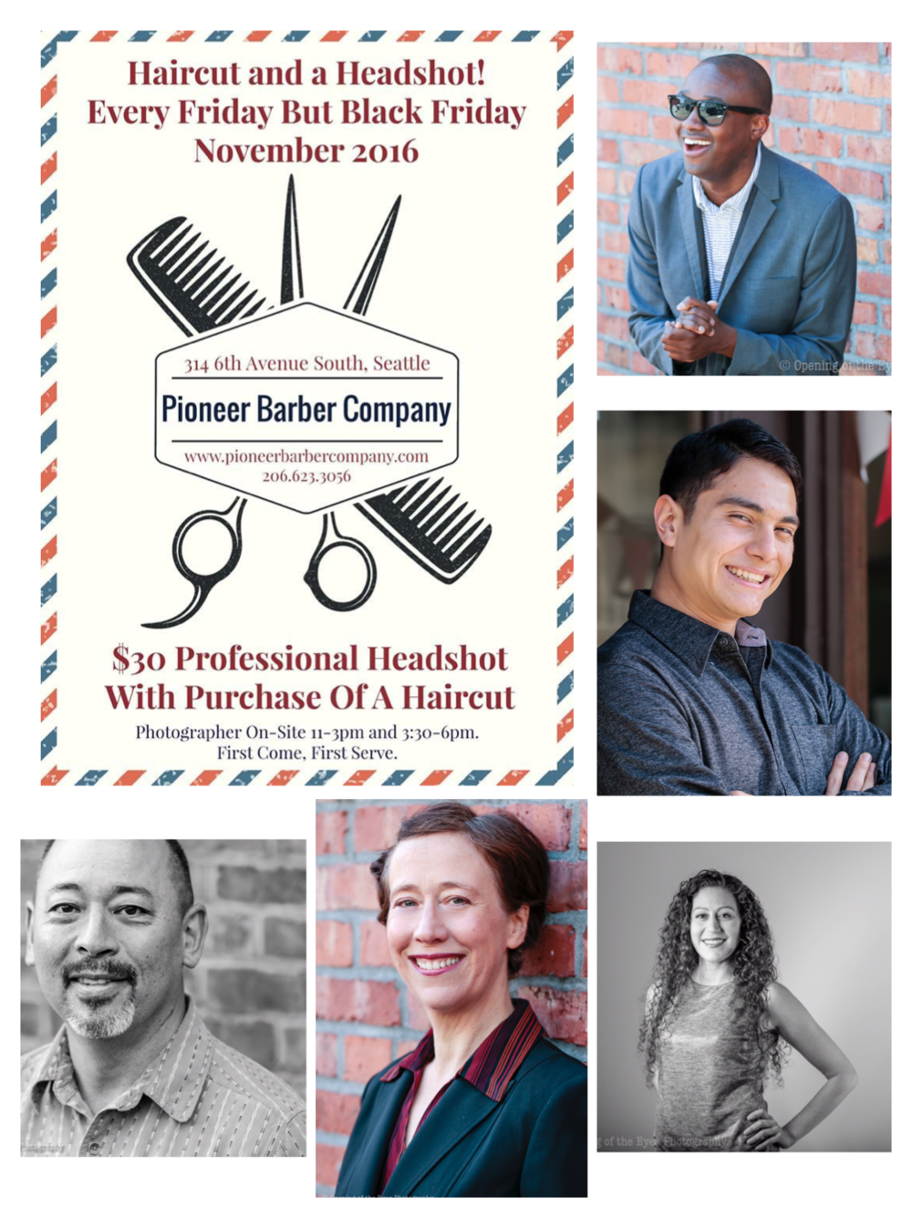 Pay $50 ($150 reg. price) without a haircut, or $30 with one! Get hair cut, styled then fantastic photos just come easy! Call or email me: steph@openingoftheeyes.com to setup an appointment!!