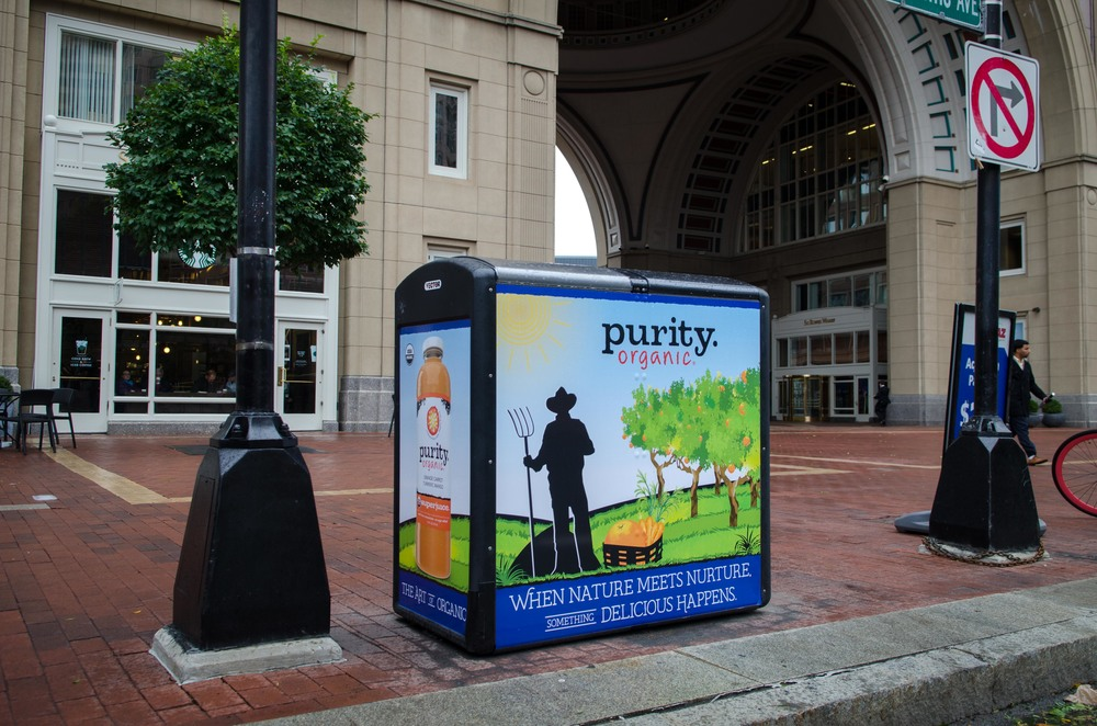 Creative direction for outdoor campaign in Boston.