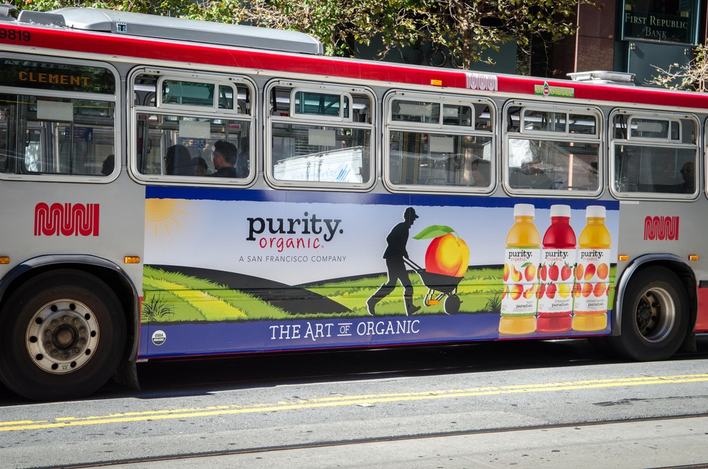 Creative direction for outdoor campaign in San Francisco