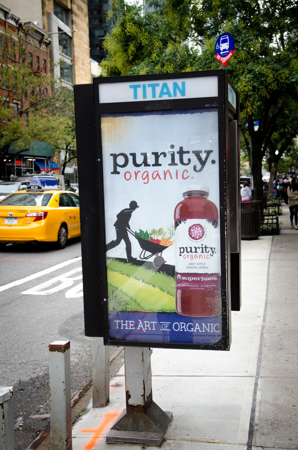 Illustration and creative direction for outdoor campaign in New York City.