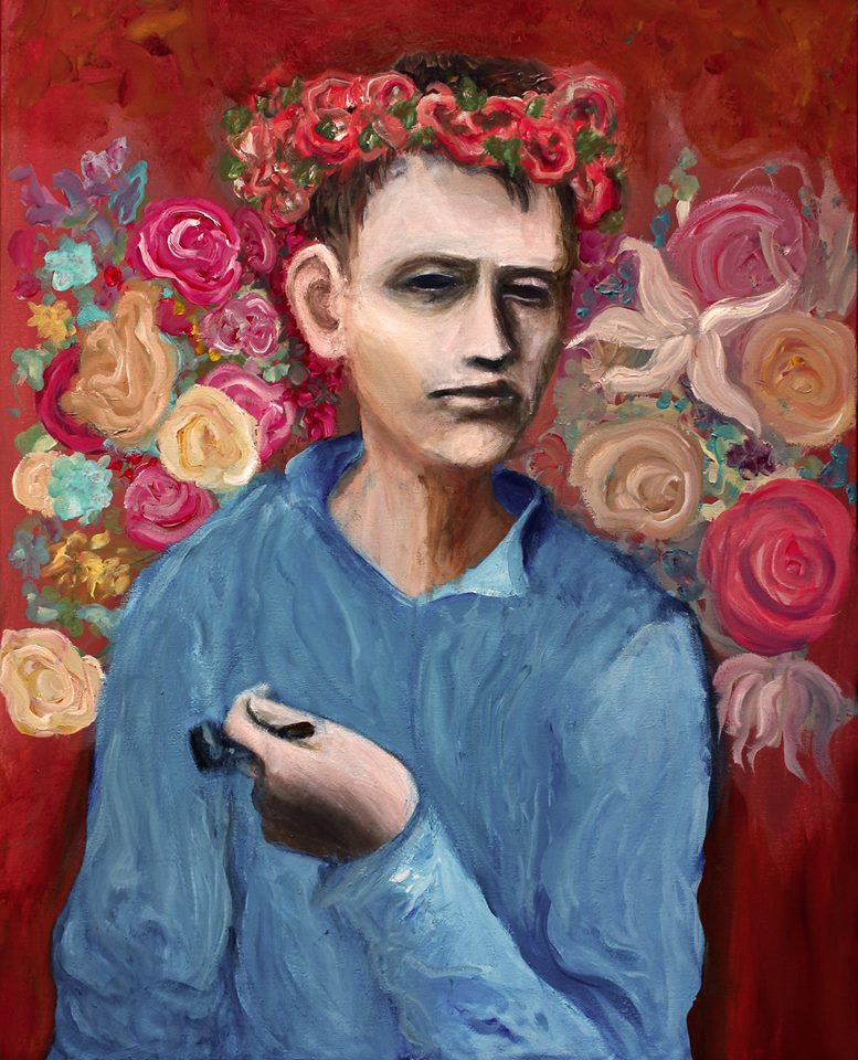 boy with a pipe 24x30