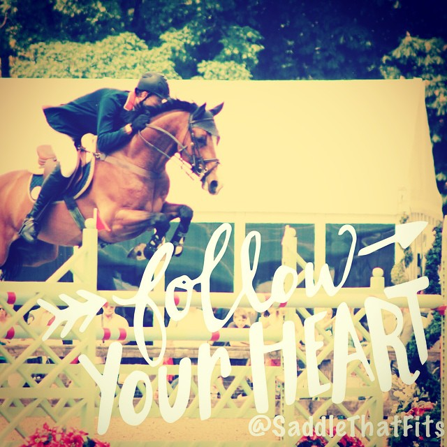 Always follow your passion. You are never lost when you follow your heart with any decision you make. #happiness #horses #love #showjumping #equestrian #horsesoninstagram  #dreams #priceless #passion