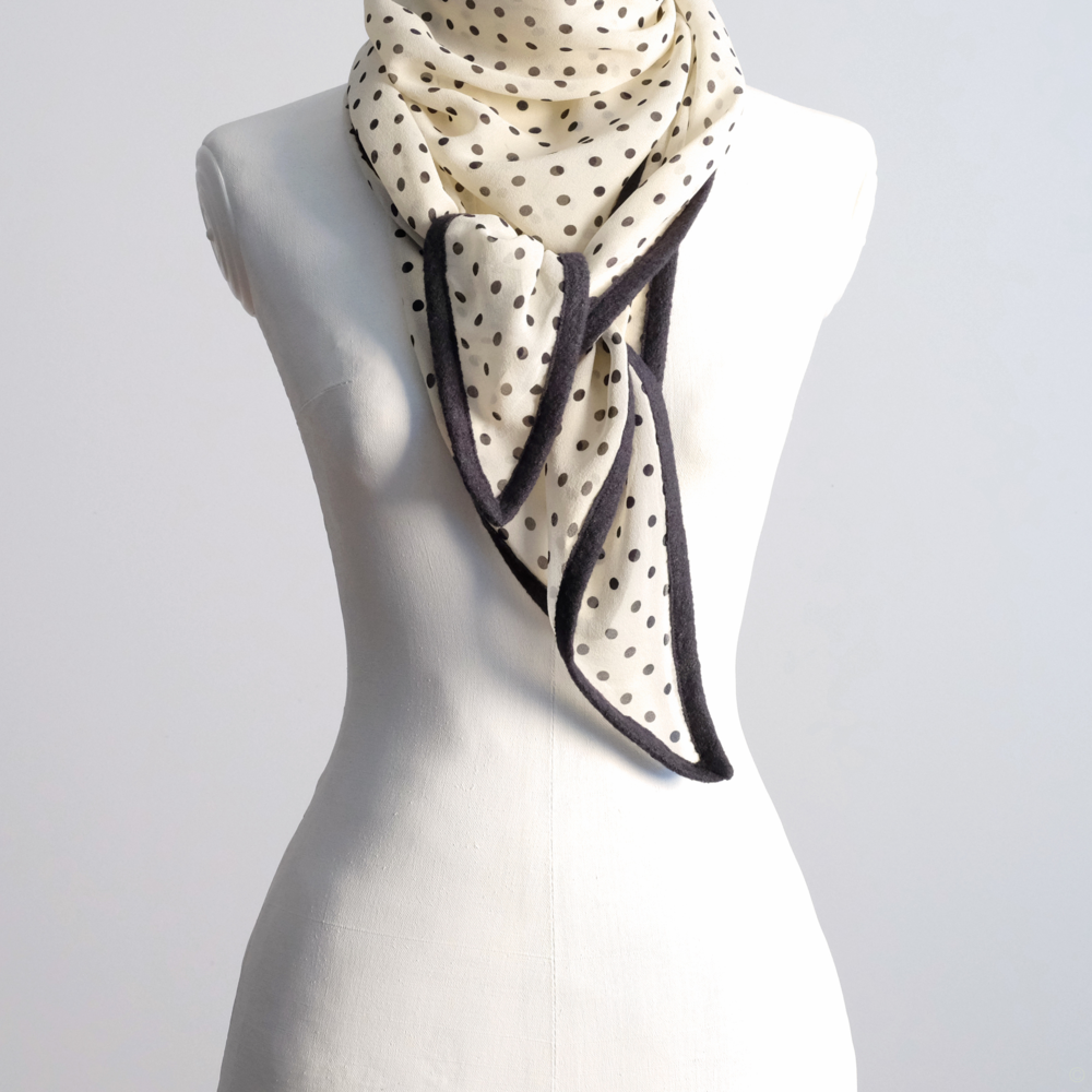 chiffon triangle scarf
