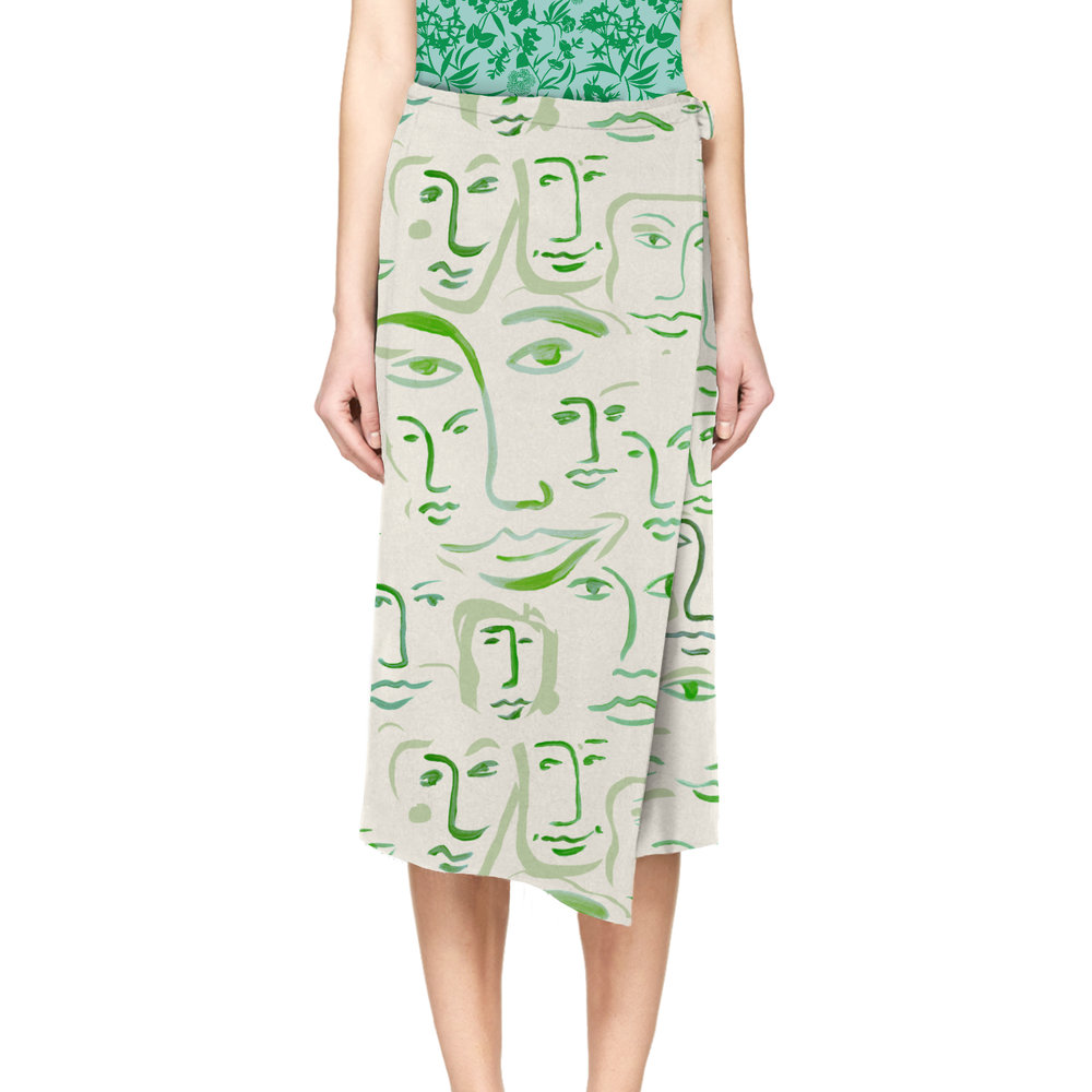 cos-long wrap skirt-greenfaces.jpg