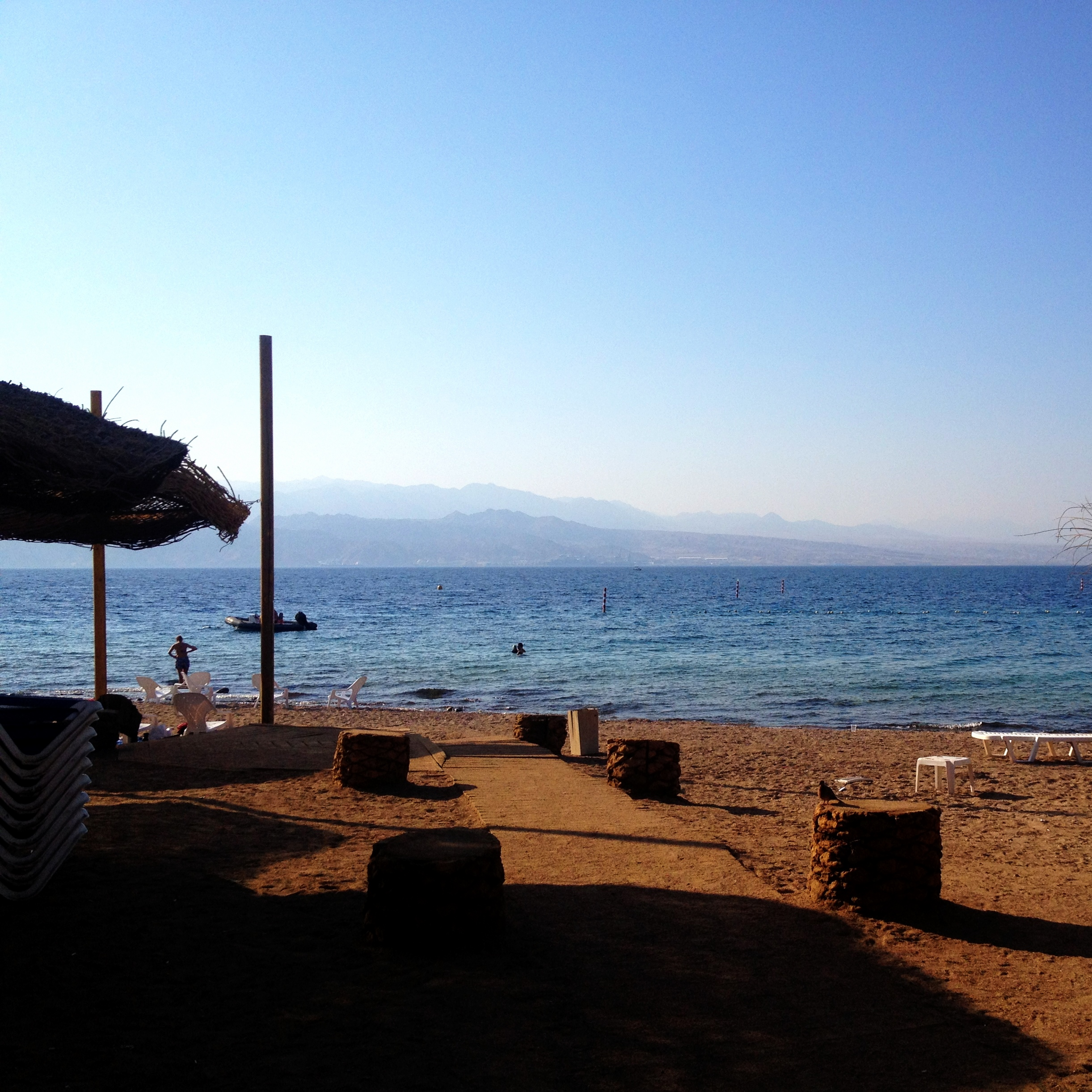 View of the Red Sea from Eilat