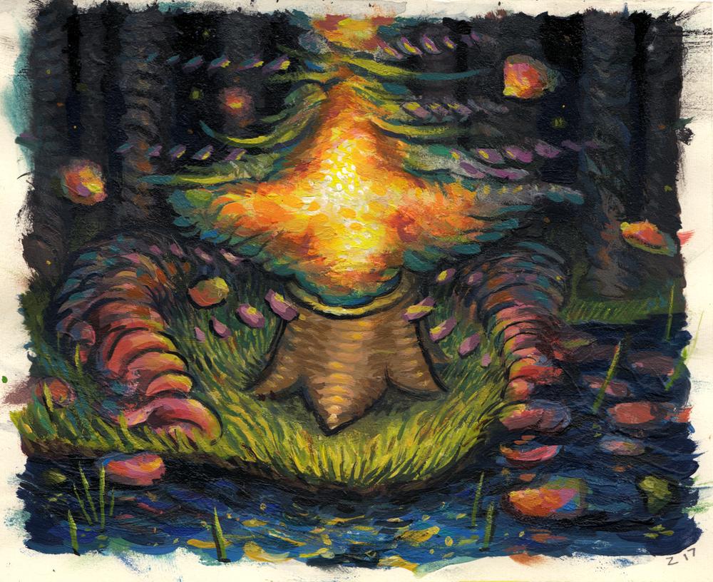 Tree Spirit Study