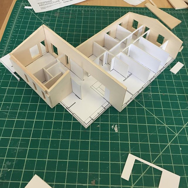 Model building today...