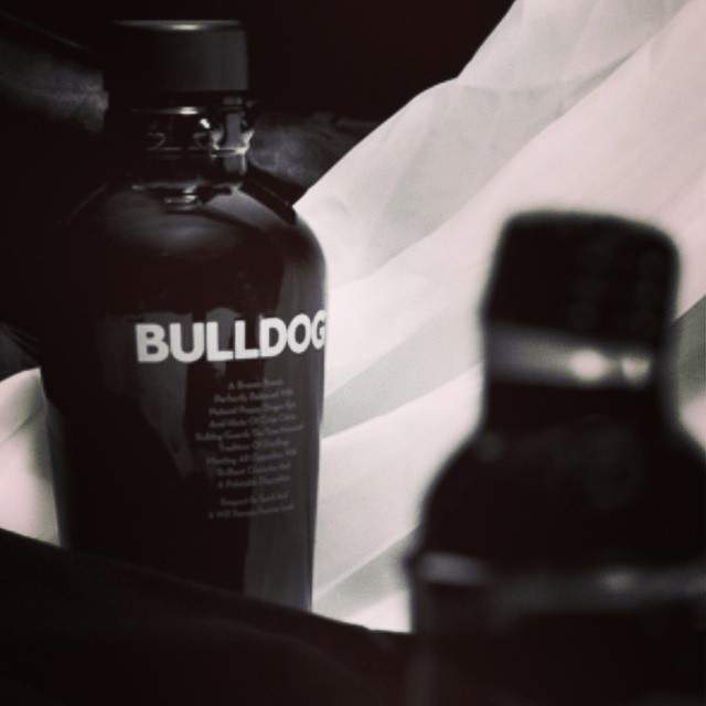 Day 9's #gin countdown to #Xmas introduces @bulldog_gin, distilled with Dragon Eye, Lotus Leaf, Lavender and more. A complex tipple to say the least!