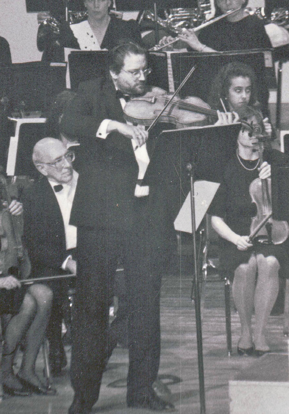 "Performing Bob Cobert's ""Concert Piece For Viola and Small Orchestra""."