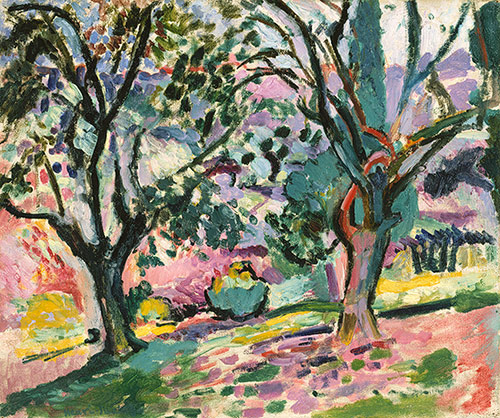 Henri Matisse,  Promenade among the Olive Trees  , 1905–6