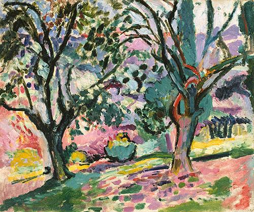Henri Matisse, Promenade among the Olive Trees, 1905–6