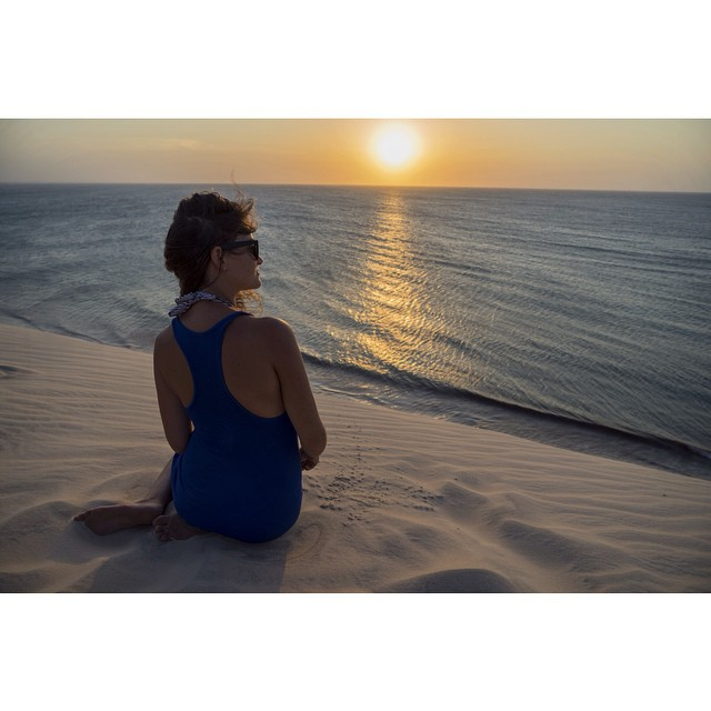 Beauty in its many forms. Brazil keeps surprising us.  #jericoacoara #brazil #sunset #natureiscool #travelstoke #wanderlust #asenseofplace #traveltheworld