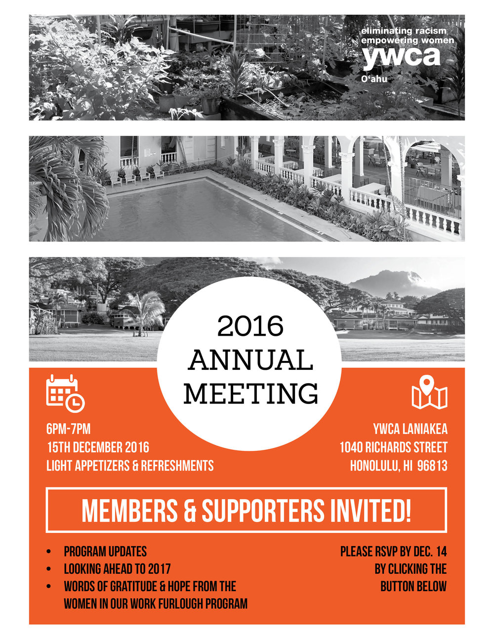 2016 annual meeting ywca o ahu