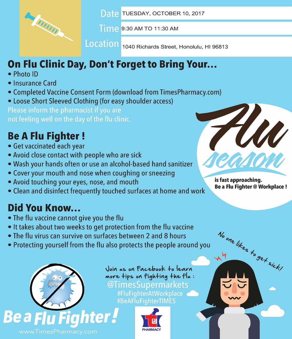 flu clinic reminder YWCA Laniakea.jpg