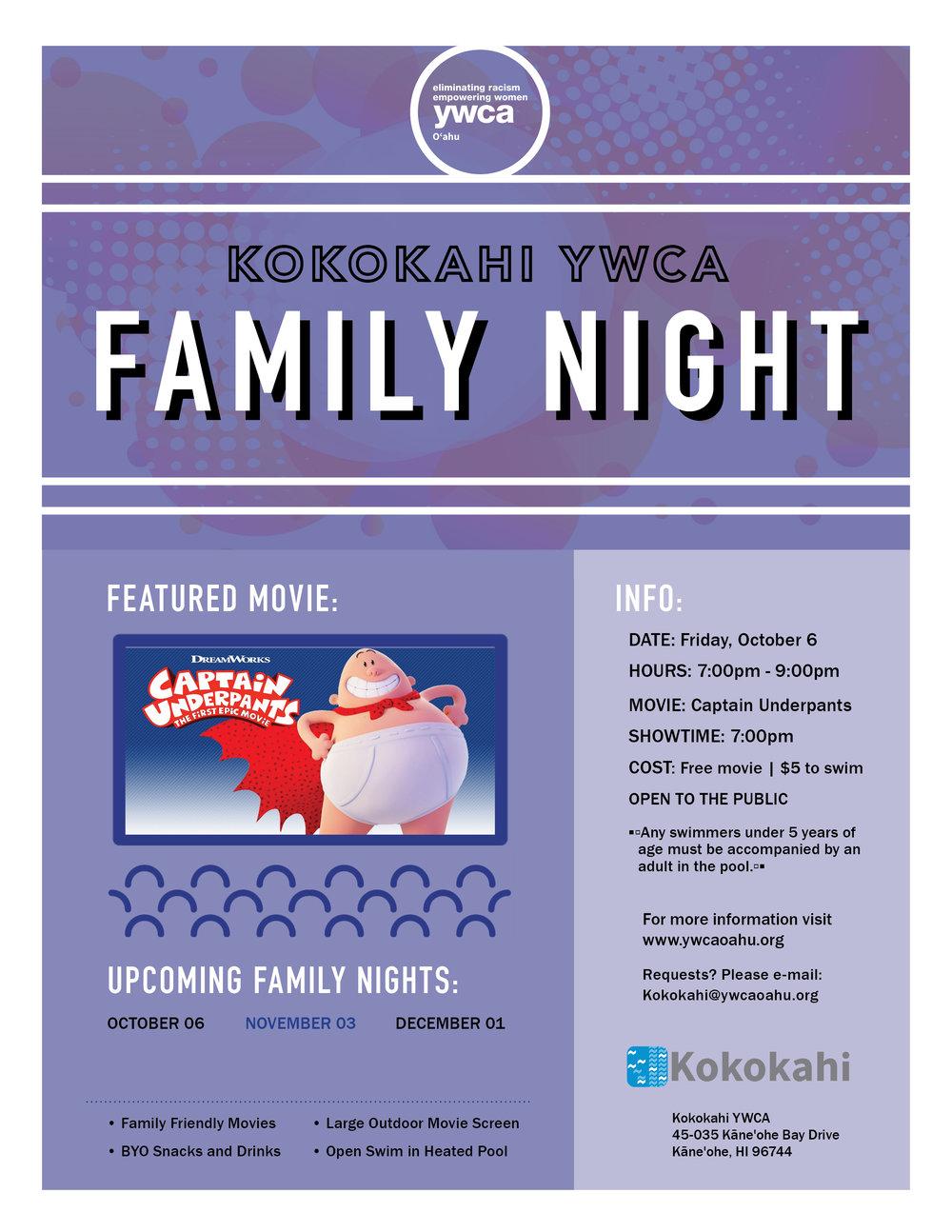 Kokokahi Family Night flyer OCT 2017.jpg