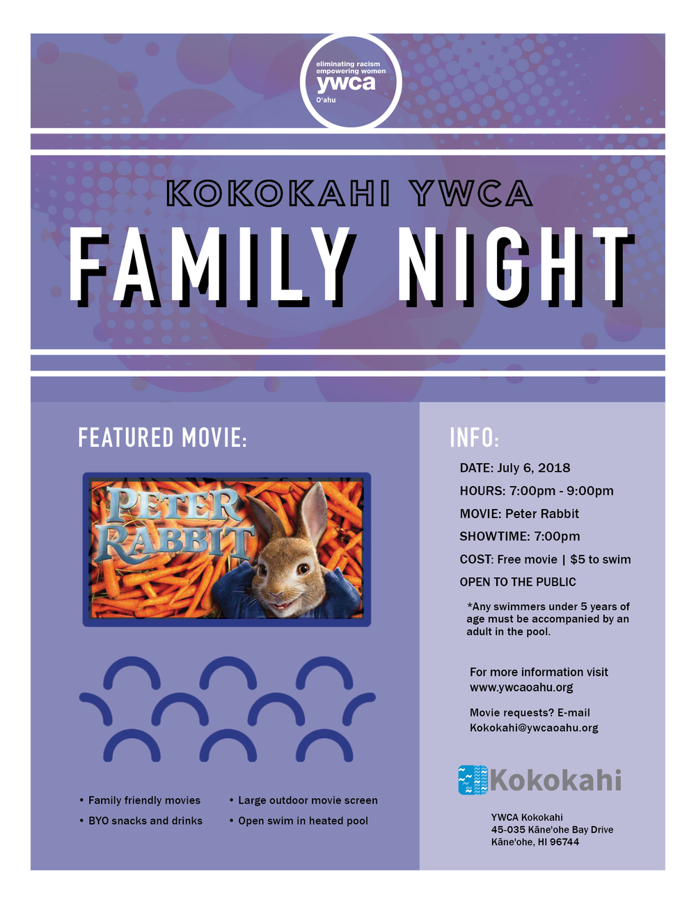 Kokokahi Family Night flyer July 20183.png