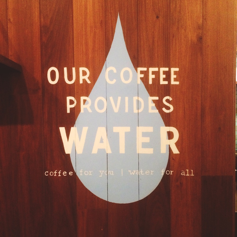 For every cup of coffee you buy from TOMS, you provide a day's worth of clean water to someone in need. For every bag of coffee you purchase, someone gets clean drinking water for a week.